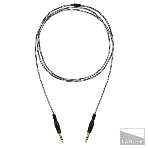 Lander Neve Aux Cable Black