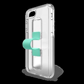 BodyGuardz SlideVue Case for iPhone X/Xs - Clear/Mint