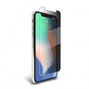 BodyGuardz Pure 2 SpyGlass for iPhone Xs Max- Privacy Glass Screen Protector