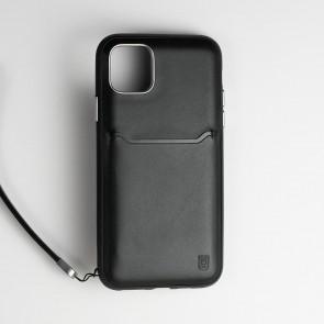BodyGuardz Accent Wallet iPhone 11 Black