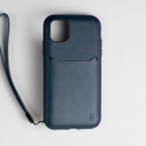 BodyGuardz Accent Wallet iPhone 11 Blue