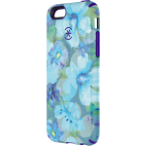 Speck iPhone 6/6s CandyShell Inked Aqua Floral Blue/UltraViolet Purple