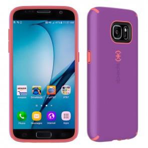 Speck Samsung Galaxy S7 CandyShell Revolution Purple/Warning Orange