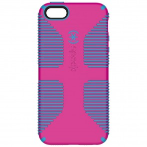 Speck iPhone 5/5s/SE CANDYSHELL GRIP LIPSTICK PINK/JAY BLUE