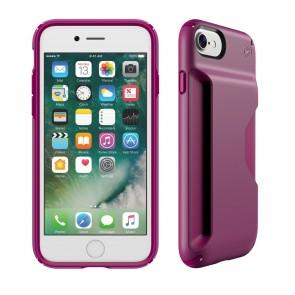 Speck iPhone 7 Presidio Wallet Syrah Purple/Magenta Pink