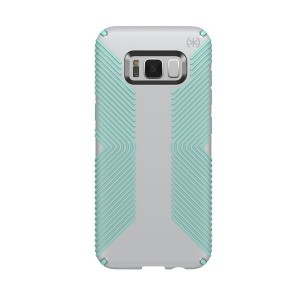 Speck Samsung Galaxy S8 Presidio Grip - Dolphin Grey/Aloe Green