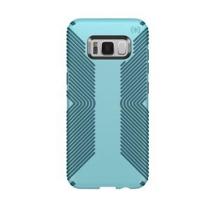 Speck Samsung Galaxy S8 Presidio Grip - Robin Egg Blue/Tide Blue