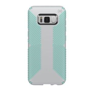 Speck Samsung Galaxy S8+ Presidio Grip - Dolphin Grey/Aloe Green