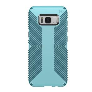 Speck Samsung Galaxy S8+ Presidio Grip - Robin Egg Blue/Tide Blue