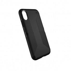 Speck iPhone X Presidio Grip - Black/Black