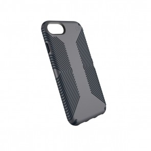 Speck iPhone 8/7/6/6S Presidio Grip - Graphite Grey/Charcoal Grey