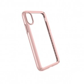Speck iPhone X Presidio Show - Clear/Rose Gold