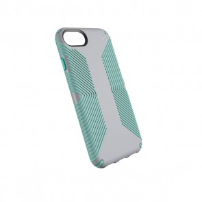 Speck iPhone 8/7/6/6S Presidio Grip - Dolphin Grey/Aloe Green
