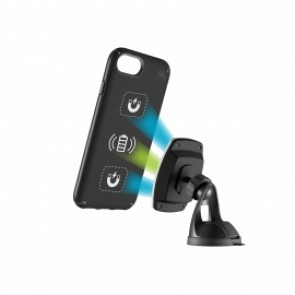 Speck iPhone 8/7/6S/6 Presidio Mount + MagicMount Pro Charge - Black/Black