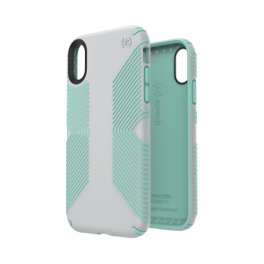 Speck iPhone XR PRESIDIO GRIP DOLPHIN GREY/ALOE GREEN