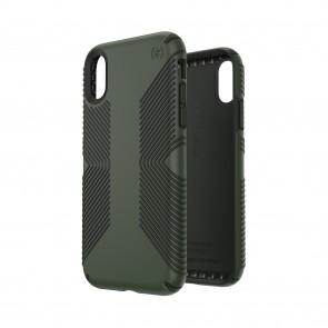 Speck iPhone XR PRESIDIO GRIP DUSTY GREEN/BRUNSWICK BLACK