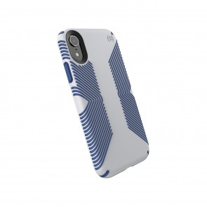 Speck iPhone XR PRESIDIO GRIP MICROCHIP GREY/BALLPOINT BLUE