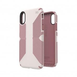 Speck iPhone XR PRESIDIO GRIP VEIL WHITE/LIPLINER PINK