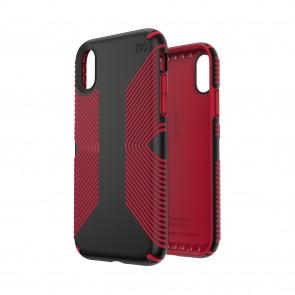 Speck iPhone XR PRESIDIO GRIP BLACK/DARK POPPY RED