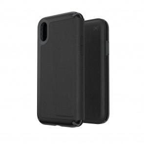 Speck iPhone XR PRESIDIO FOLIO LEATHER BLACK/BLACK
