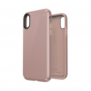 Speck iPhone XR PRESIDIO METALLIC ROSE GOLD METALLIC/DAHLIA PEACH
