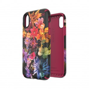 Speck iPhone XR PRESIDIO INKED DIGITAL FLORAL/CERISE RED