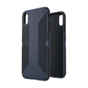 Speck iPhone Xs Max PRESIDIO GRIP ECLIPSE BLUE/CARBON BLACK
