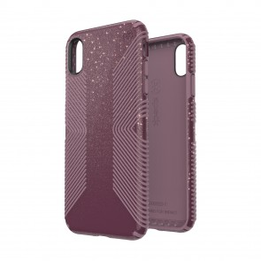 Speck iPhone Xs Max PRESIDIO GRIP + GLITTER STARLIT PURPLE WITH GOLD GLITTER/CATTLEYA PINK
