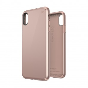 Speck iPhone Xs Max PRESIDIO METALLIC ROSE GOLD METALLIC/DAHLIA PEACH
