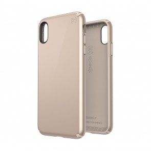 Speck iPhone Xs Max PRESIDIO METALLIC NUDE GOLD METALLIC/NUDE GOLD