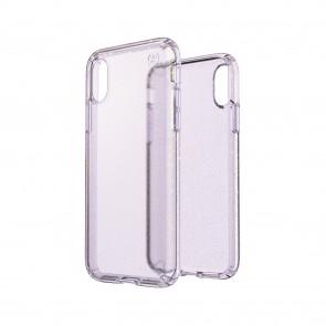 Speck iPhone X/Xs PRESIDIO CLEAR + GLITTER GEODE PURPLE WITH GOLD GLITTER/GEODE PURPLE