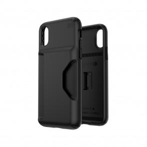 Speck iPhone X/Xs PRESIDIO WALLET BLACK/BLACK
