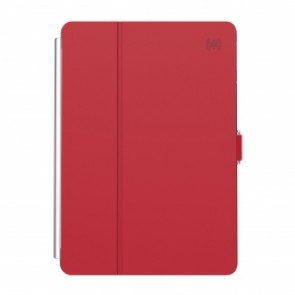 Speck iPad 10.2 7th Generation BALANCE FOLIO CLEAR (HEARTRATE RED/CLEAR)