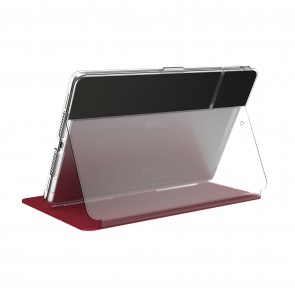 Speck iPad 10.2 8th Gen/7th Gen BALANCE FOLIO CLEAR (HEARTRATE RED/CLEAR)