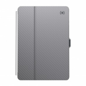 Speck iPad 10.2 8th Gen/7th Gen BALANCE FOLIO CLEAR (GUNMETAL GREY METALLIC/CLEAR)