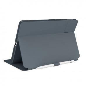 Speck iPad 10.2 9th/8th/7th Gen Balance Folio with Microban - Stormy Grey/Charcoal Grey