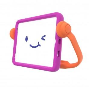 Speck iPad 10.2 9th/8th/7th Gen Case-E Run with Microban - It'S A Vibe Violet/Flux Orange