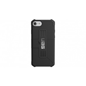 UAG Apple iPhone 6 / iPhone 6s / iPhone 7 / iPhone 8 Metropolis Folio Wallet Case - Black And Black