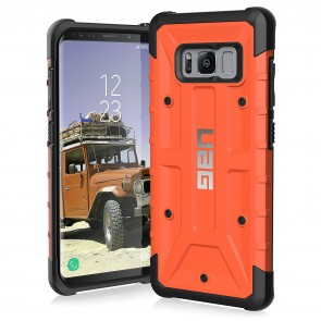 UAG Samsung Galaxy S8 Pathfinder Case - Rust And Black