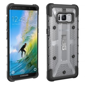 UAG Samsung Galaxy S8 Plasma Case - Ice And Black