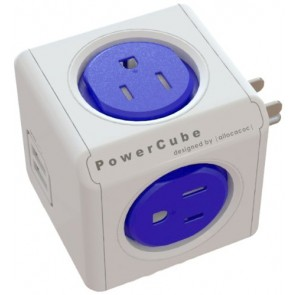 Allocacoc PowerCube Original USB SURGE  BLUE