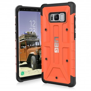 UAG Samsung Galaxy S8 Plus Pathfinder Case - Rust And Black