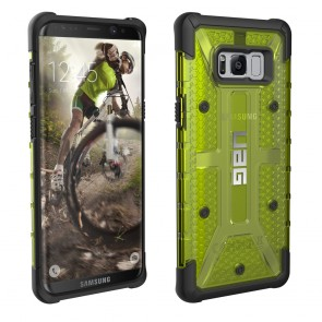 UAG Samsung Galaxy S8 Plus Plasma Case - Citron And Black