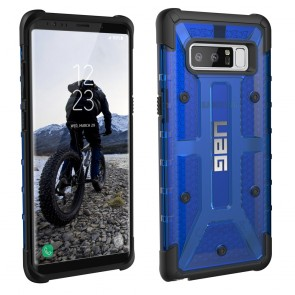 UAG Samsung Galaxy Note 8 Plasma Case - Cobalt And Black