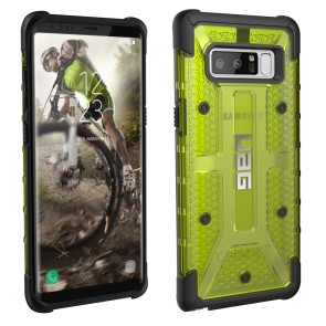 UAG Samsung Galaxy Note 8 Plasma Case - Citron And Black