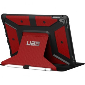 UAG Apple iPad Pro 9.7 Folio Wallet Case - Red And Black