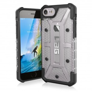 UAG Apple iPhone 6 / iPhone 6s / iPhone 7 / iPhone 8 Plasma Case - Ice And Black