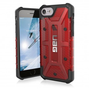 UAG Apple iPhone 6 / iPhone 6s / iPhone 7 / iPhone 8 Plasma Case - Magma And Black