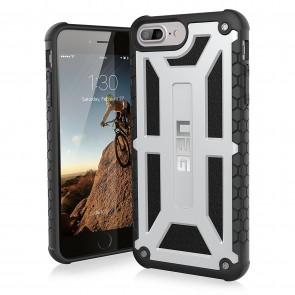 UAG Apple iPhone 6 Plus / iPhone 6s Plus / iPhone 7 Plus / iPhone 8 Plus Monarch Case - Platinum And Black