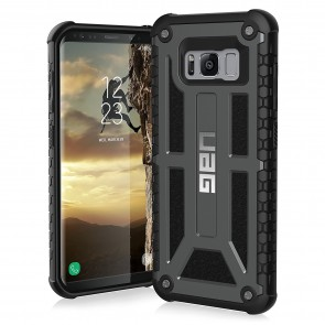 UAG Samsung Galaxy S8 Monarch Case - Graphite And Black